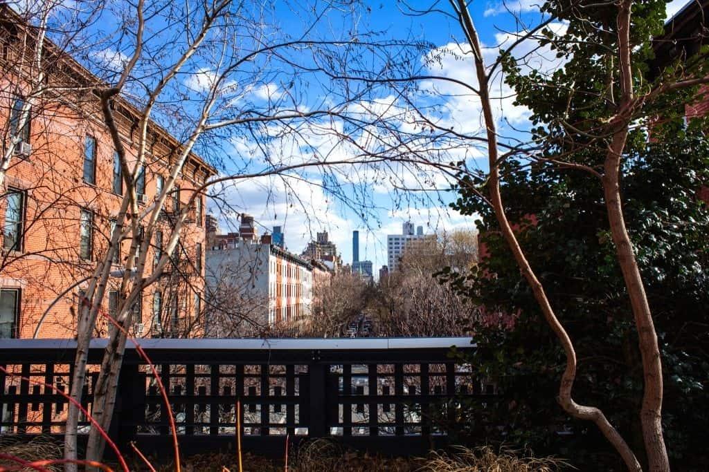 beautiful houses in Chelsea neighborhood of NYC