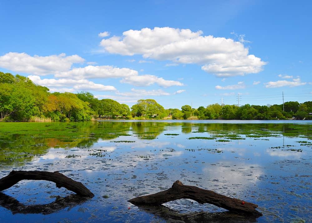 Massapequa Lake on Long Island