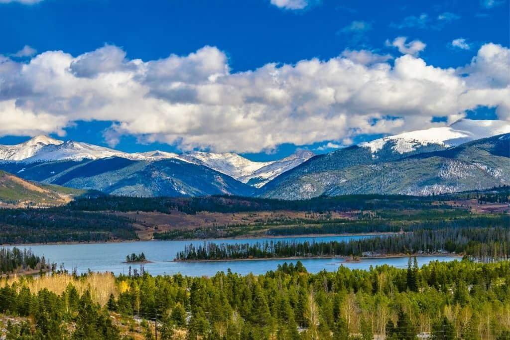 The wilderness that surrounds Breckenridge, Colorado.
