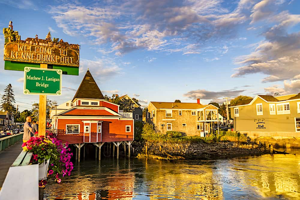 Dock Square in Kennebunkport Maine