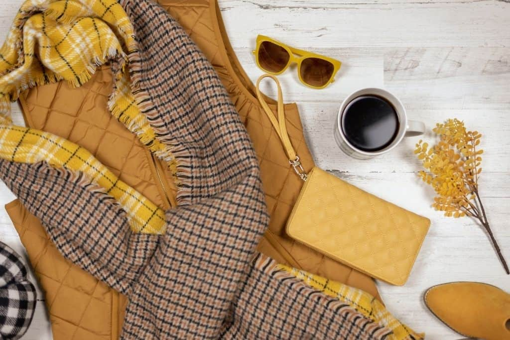 Women's clothes for fall in NYC