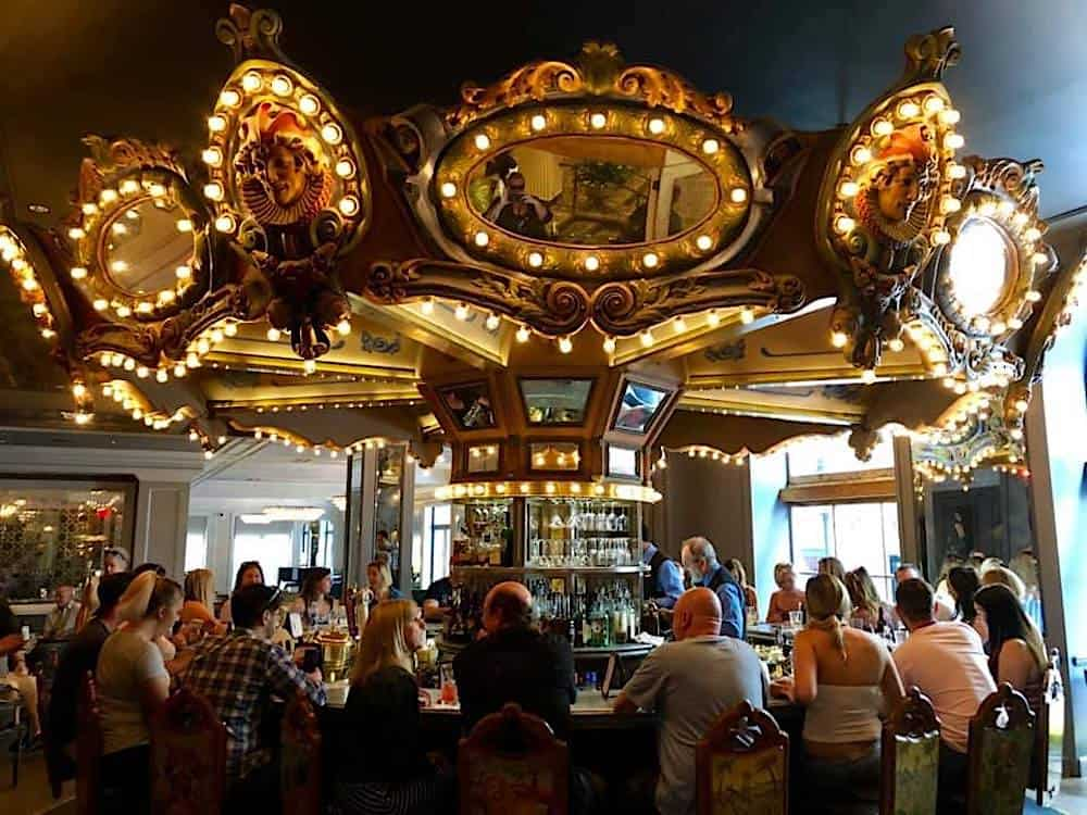 Carousel Bar at the Hotel Monteleone in New Orleans, Louisiana