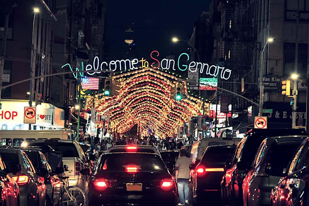 San Gennaro Festival in Little Italy