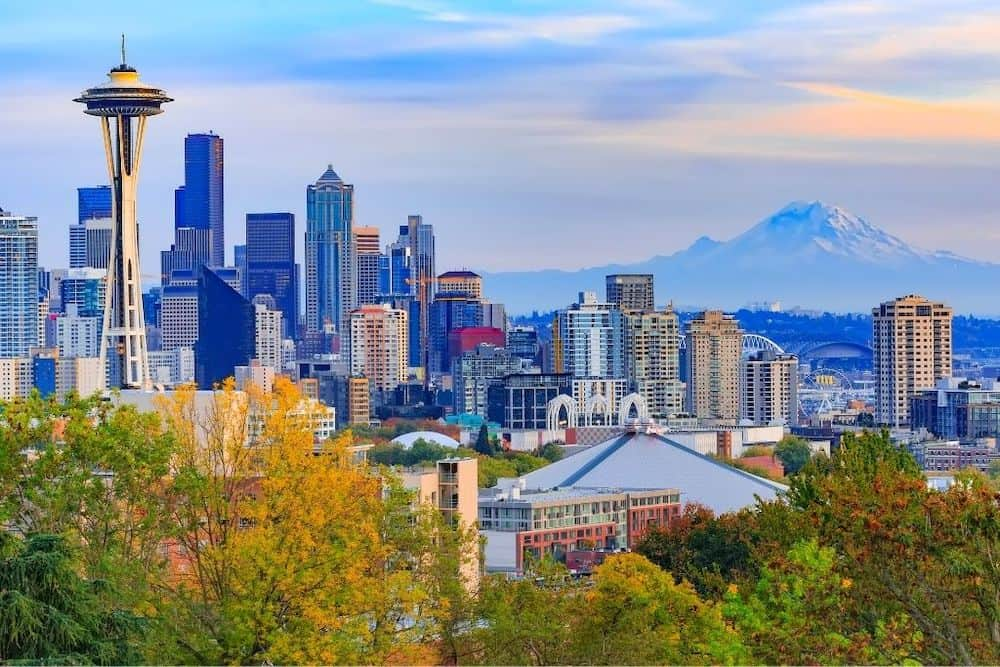 Seatlle Washington skyline.