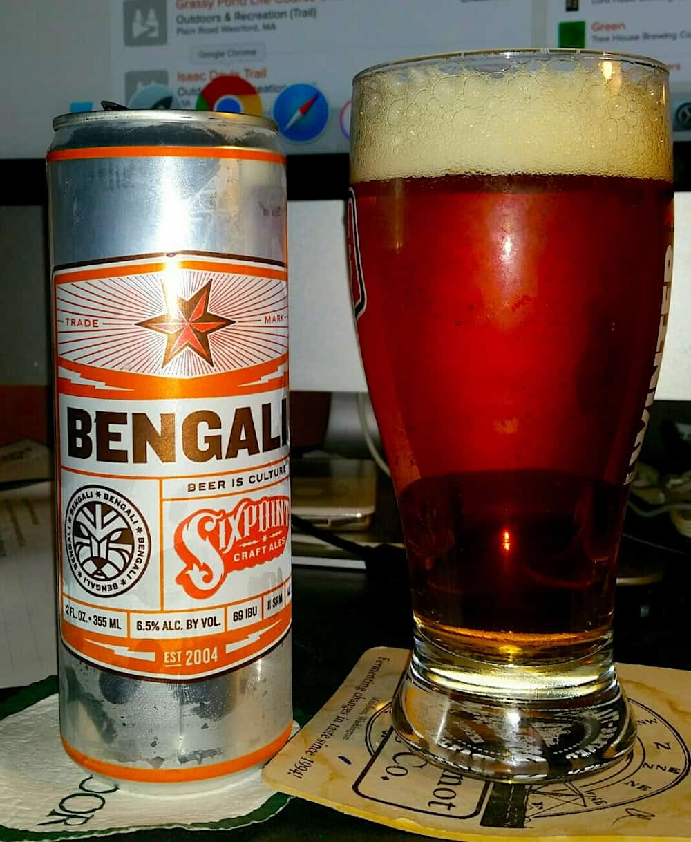 Bengali Beer from Sixpoint Brewery.