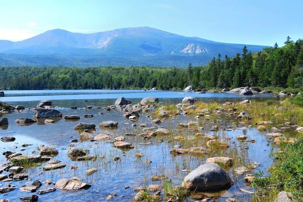 Baxter State Park in Maine