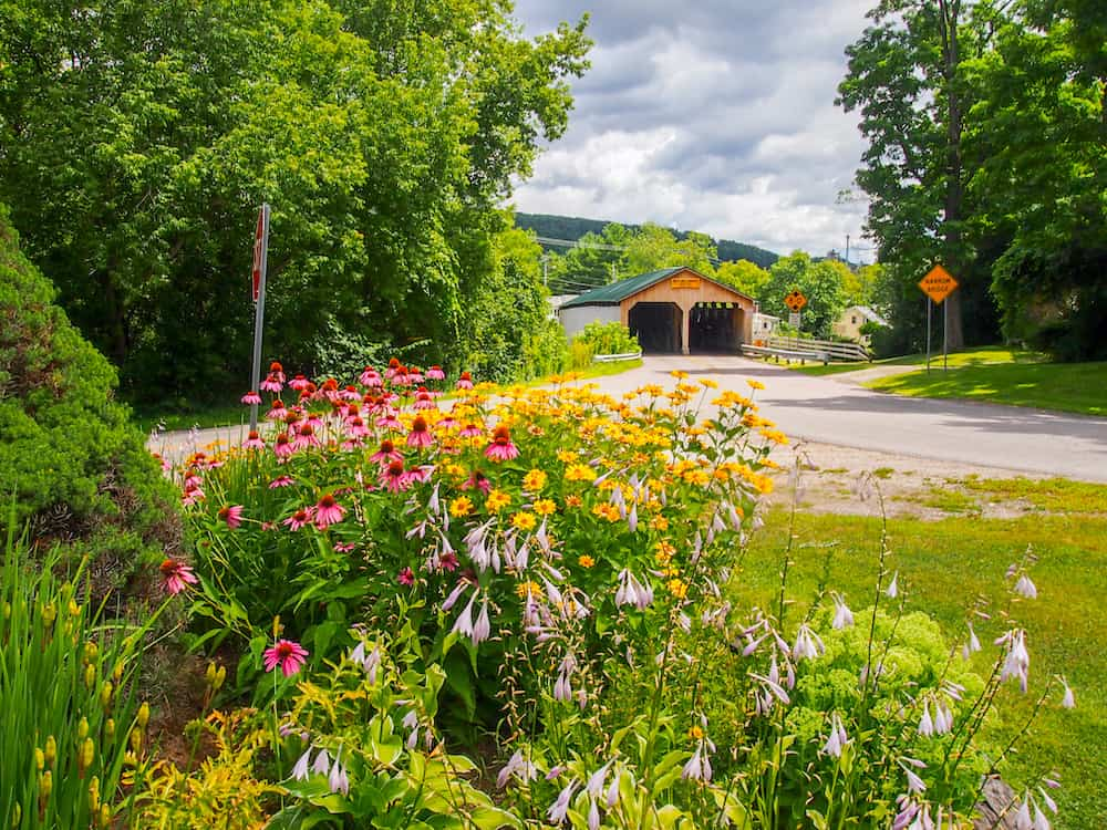 Covered Bridge in Middlebury Vermont