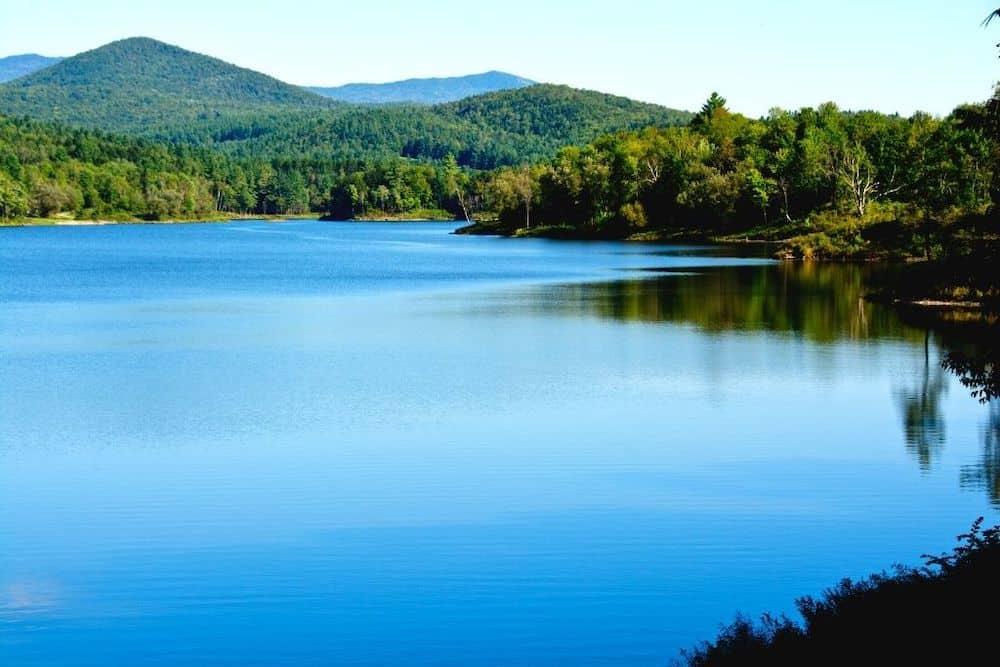Wrightsville Reservoir in Middlesex, Vermont.