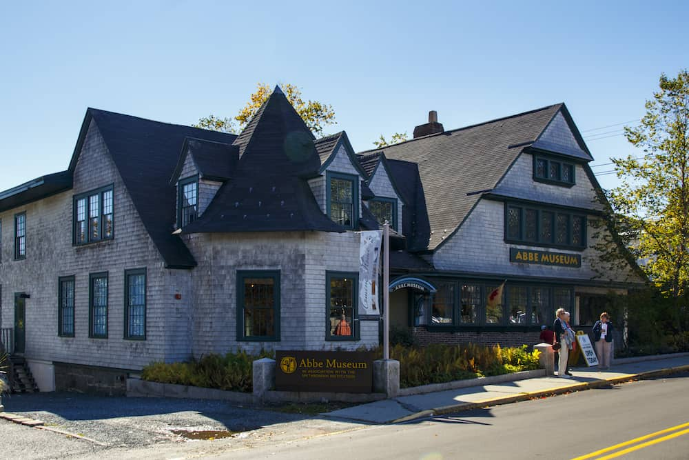 Exterior of the Abbe Museum in Bar Harbor Maine, one of the best things to do in Bar Harbor Maine