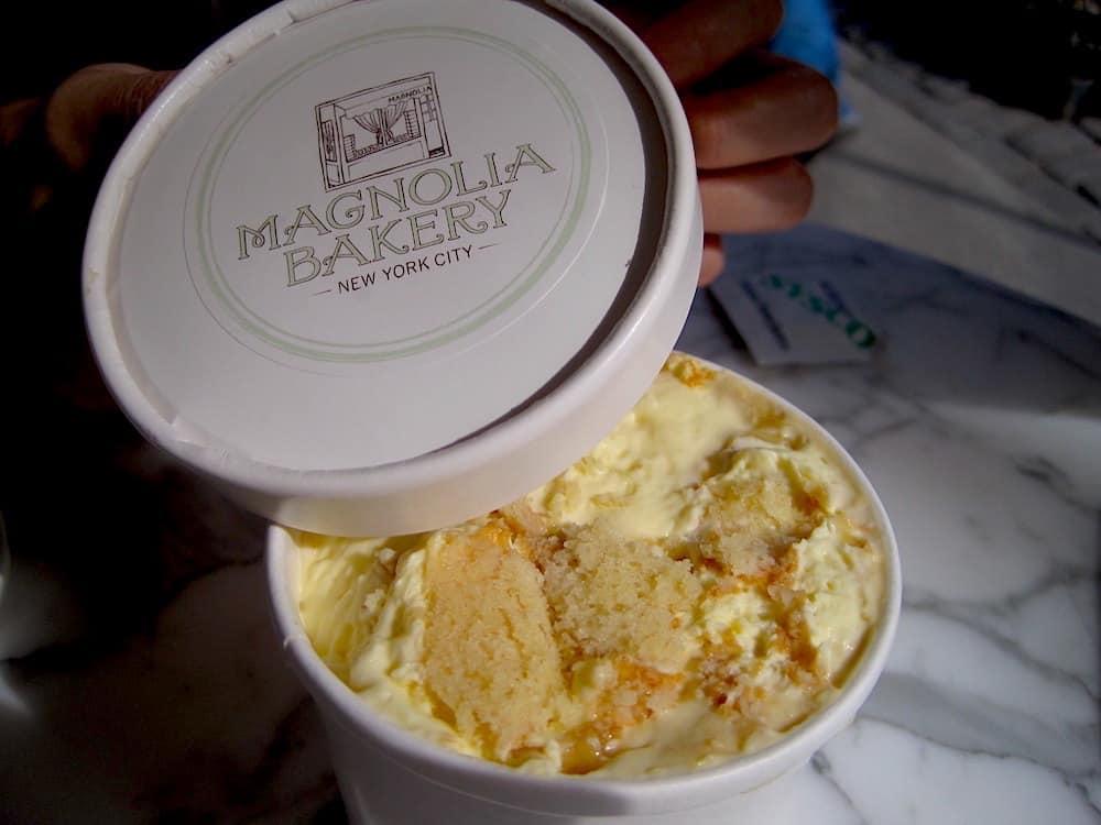 Magnolia Bakery's famous Banana Pudding.
