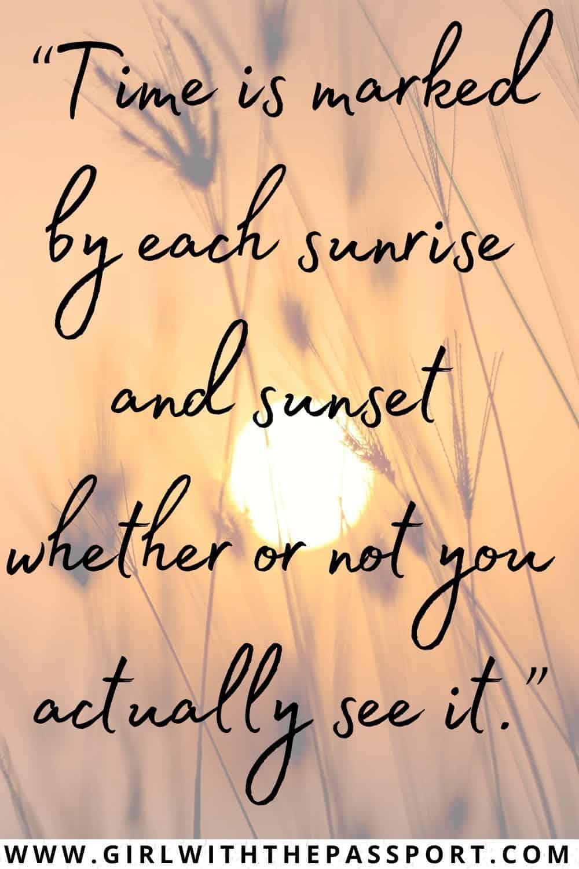 Beautiful Sunrise Quotes for Instagram