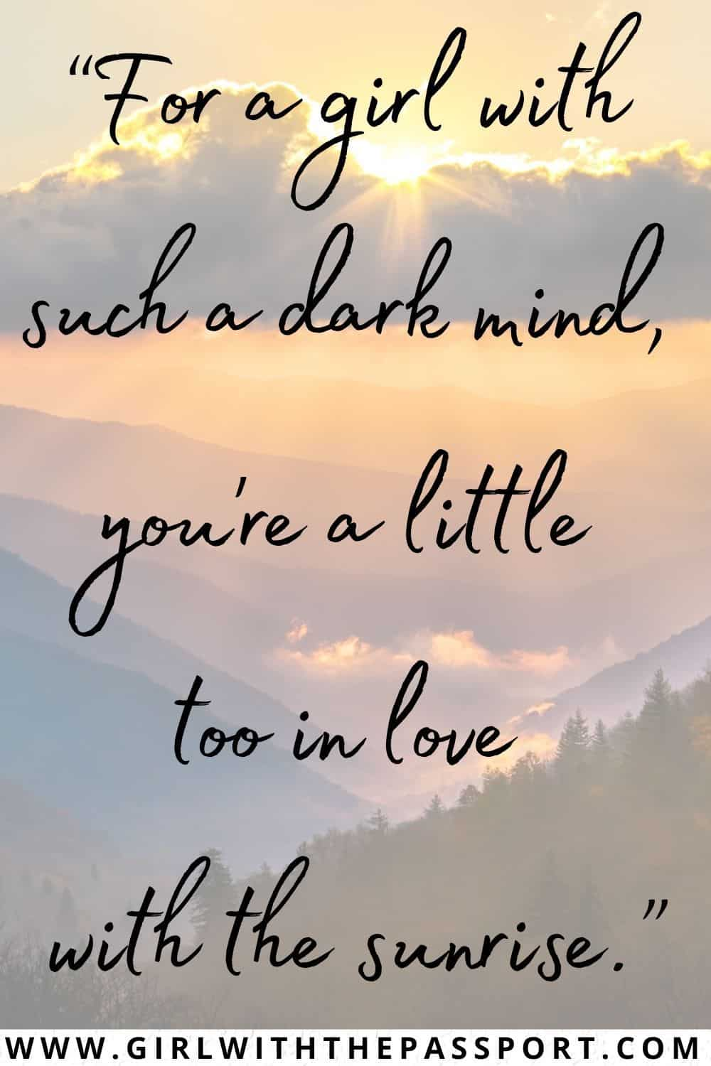 Best Short Sunrise Quotes and Best Quotes about Sunrise