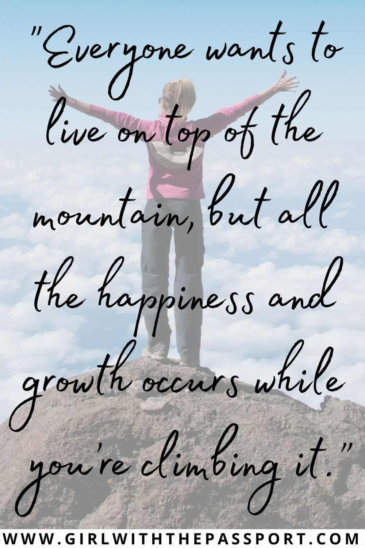 Mountain Views Quotes