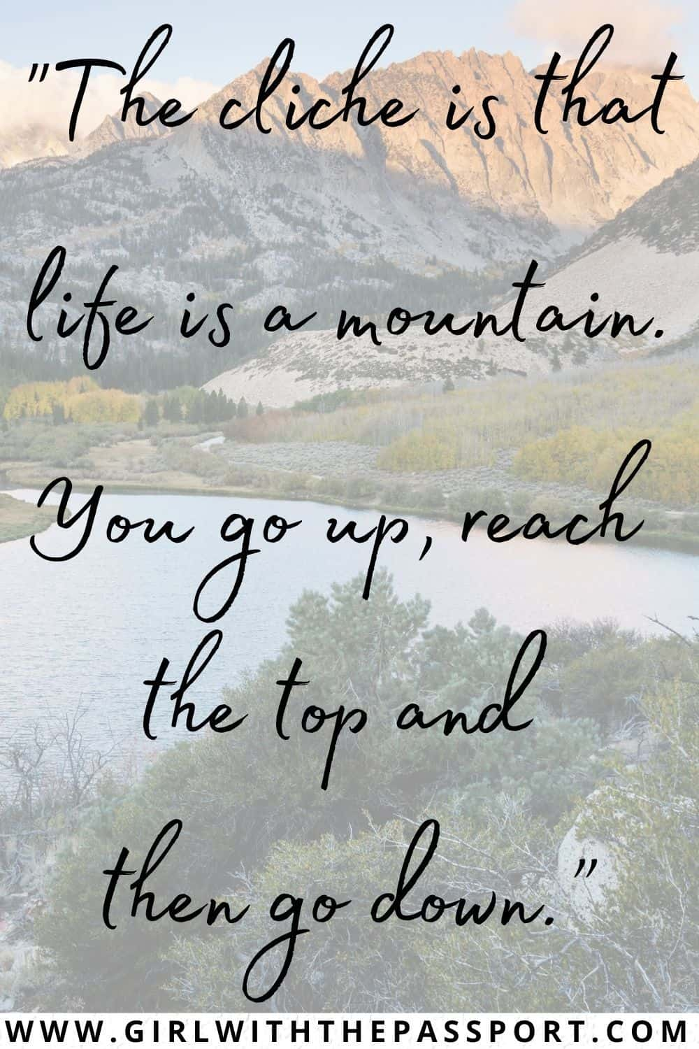 Best mountain love quotes