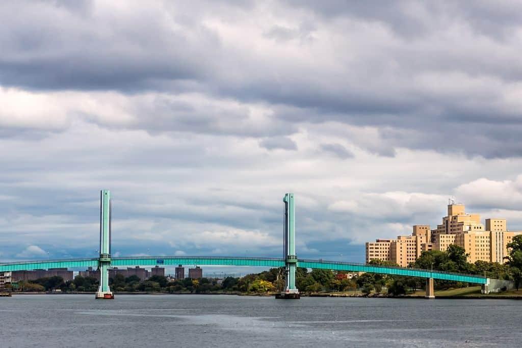 View of the bridge to Randall's Island