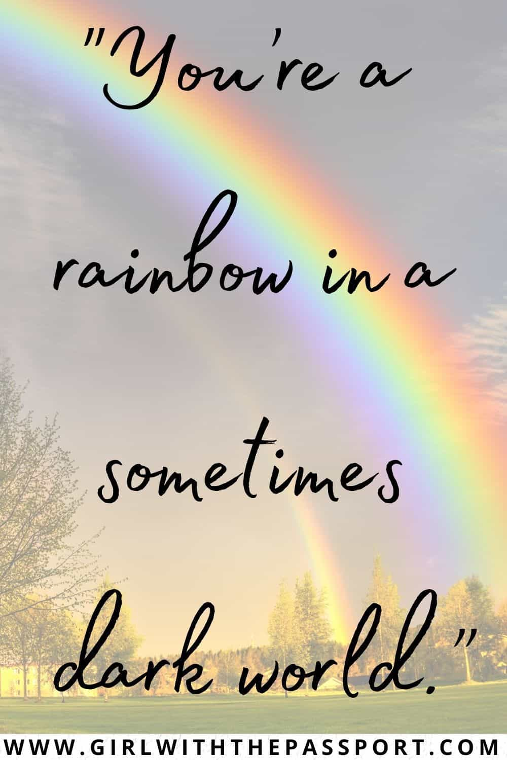 Short Quotes about Rainbows
