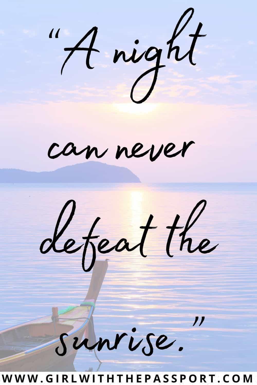 Sunrise Inspirational Quotes and Sunrise Motivational Quotes