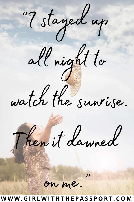 Best Sunrise Puns