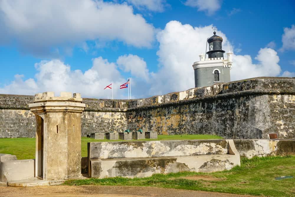 View of El Morro Fort in Old San Juan