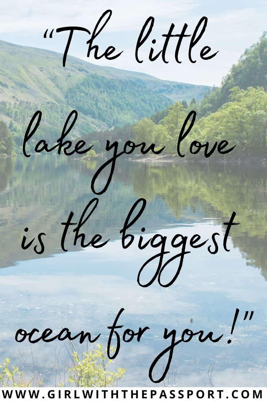 Best Lake Sayings