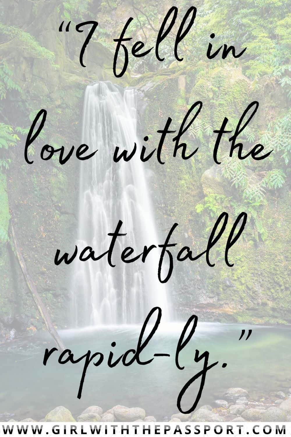 Waterfall Puns and Funny Quotes about Waterfalls